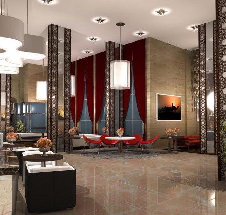 hotel lobby decor