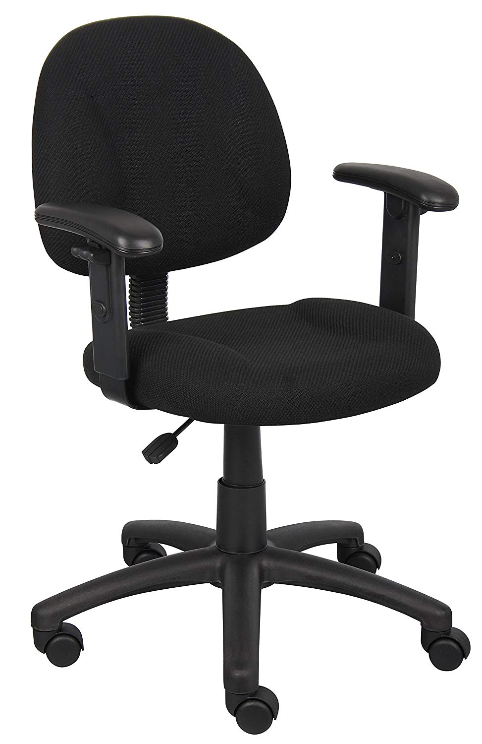 Boss Office Products B316-BK Perfect Posture Delux Fabric Task Chair